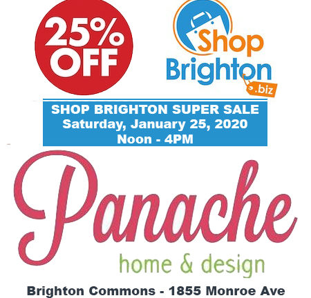 Shop Brighton Super Sale One Day Only Saturday, January 25, 2020