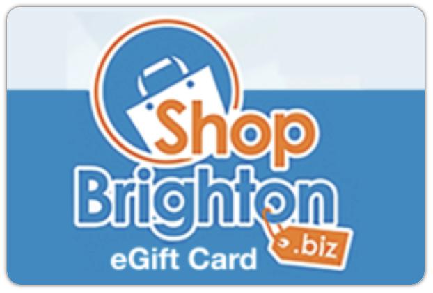 Get a Shop Brighton e-Gift Card  May 1 – June 30, 2021