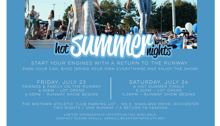 Fashion Week Rochester Hot Summer Nights